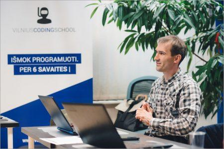 kas yra mentoryste vilnius coding school