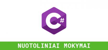 C# (.NET) vakariniai mokymai | Vilnius Coding School