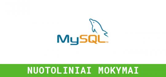 DUOMENŲ BAZIŲ <br> VALDYMAS - SQL