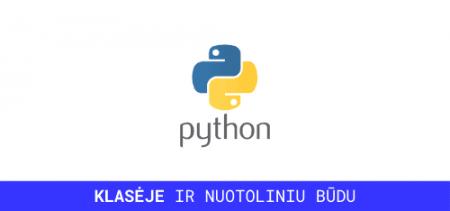 python mokymai