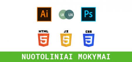 Web dizaino (UX/UI) mokymai | Vilnius Coding School