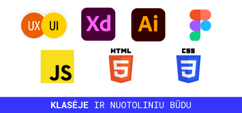 web dizaino mokymai
