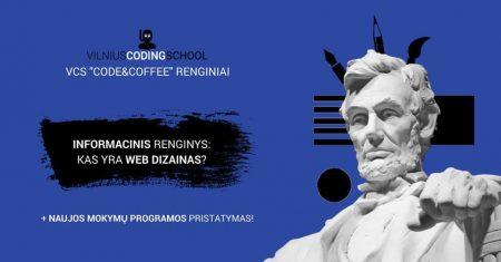 informacinis renginys kas yra web dizainas
