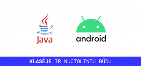 java android mokymai