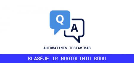 automatinio testavimo mokymai