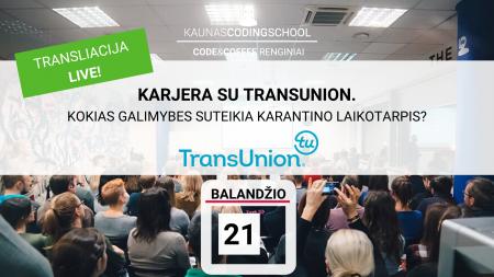 transliacija live karjera su transunion