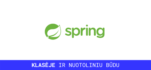 spring framework mokymai