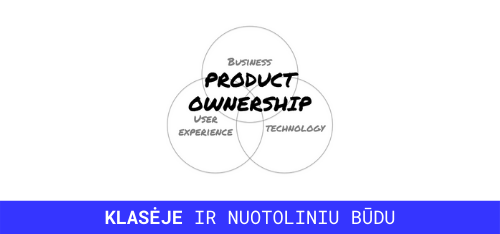 product ownership mokymai