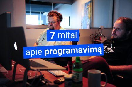 Mitai apie programavima