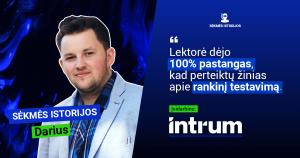Darius Bakanauskas sekmes istorija 2